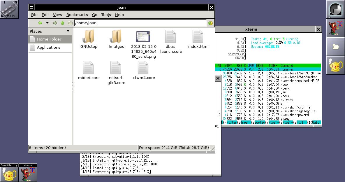 Configurant la FreeBSD 12 armv7 amb Xorg