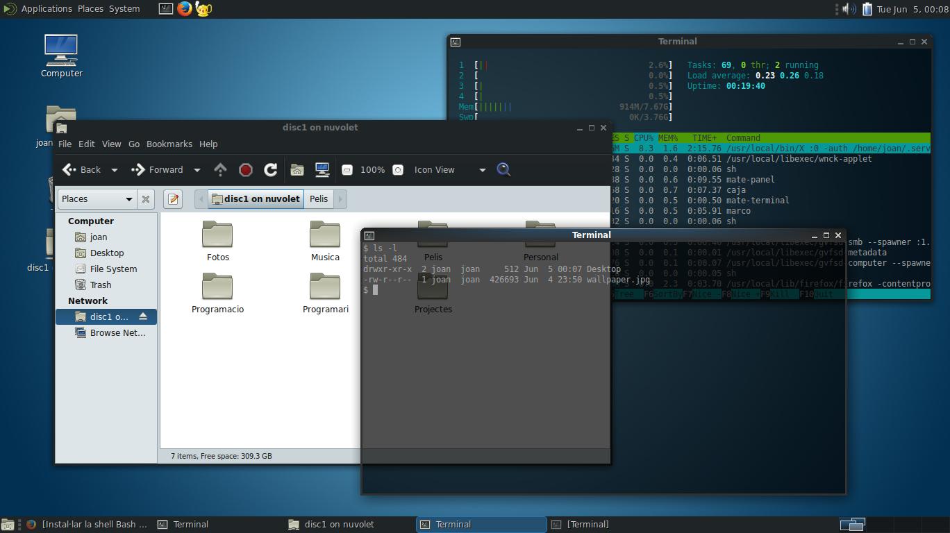 Instal·lació de FreeBSD 11.1 amb Mate Desktop al Lenovo Thinkpad x250