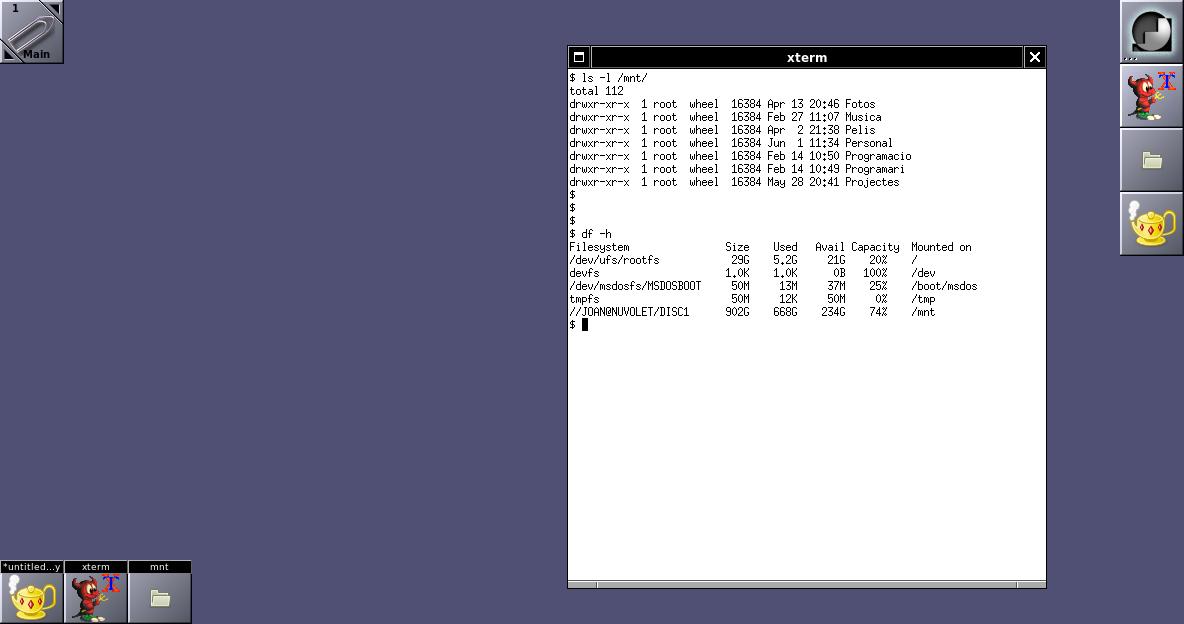 Compartint fitxers amb Samba SMBv2 a FreeBSD 11 i FreeBSD 12