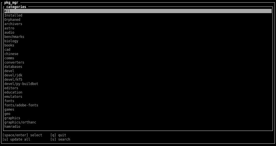 Instal·lant paquets a OpenBSD amb la utilitat pkg_mgr