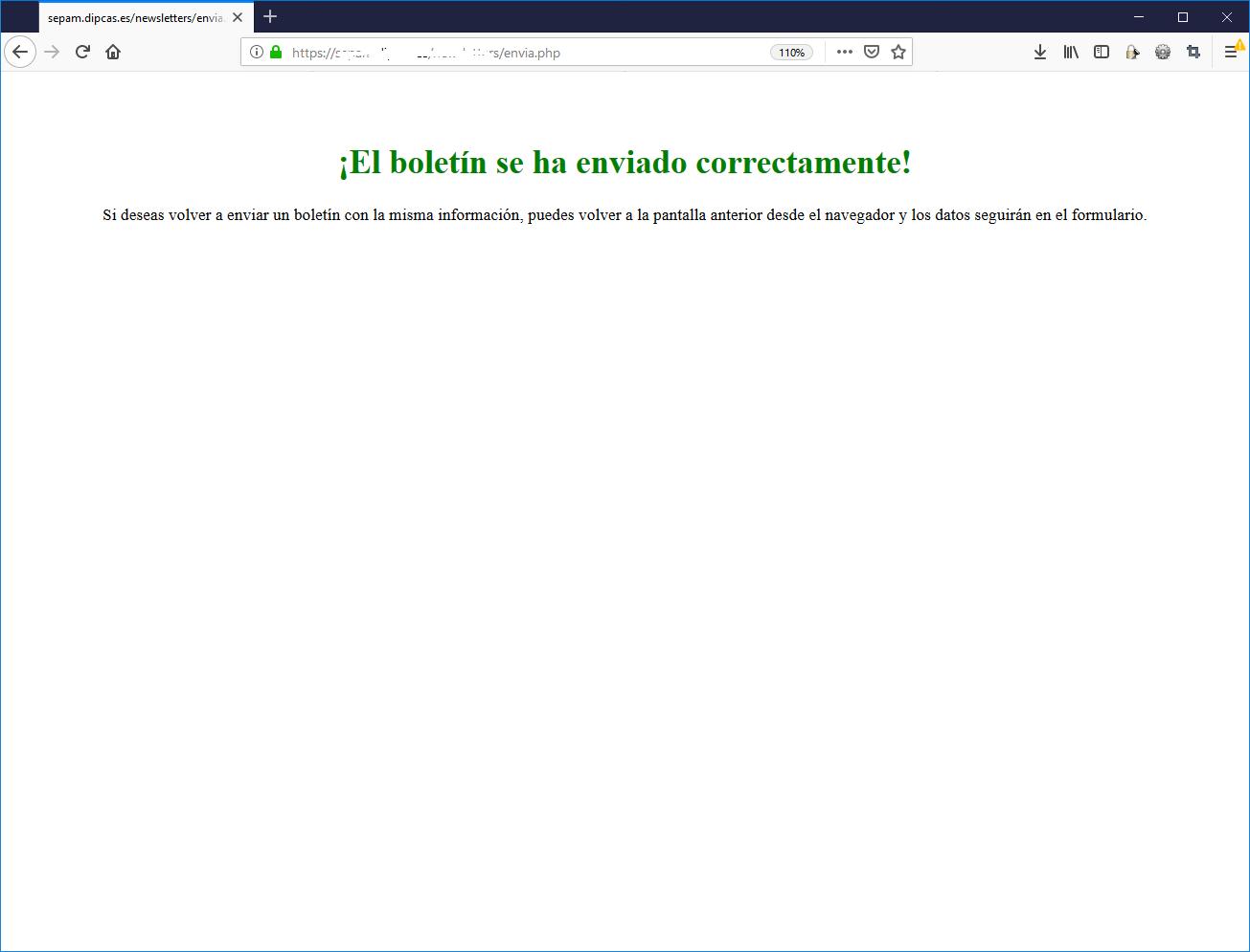 Programeta PHP per a fer enviaments de butlletins xulos amb HTML i CSS