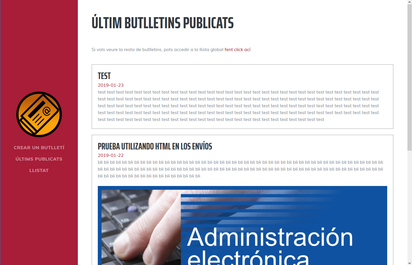 Publicada la versió 1.4 dels Newsletters Senzills