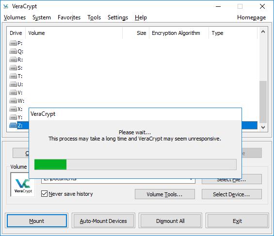 Cifrat de discs externs i particions a Windows o Mac OS X amb VeraCrypt