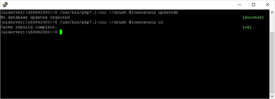 Solventar errors inesperats de caché a Drupal 8