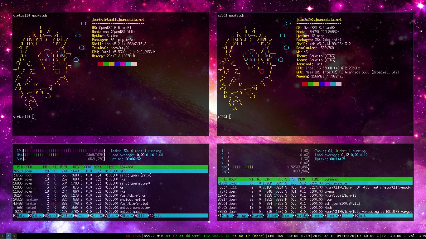 Configurant i gestionant màquines virtuals amb VMM a OpenBSD