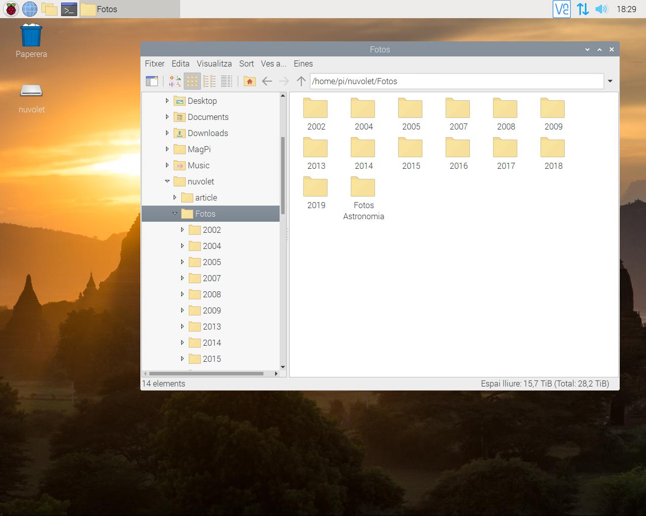 Muntant directoris remots d'una LAN a una Raspberry mitjançant sshfs