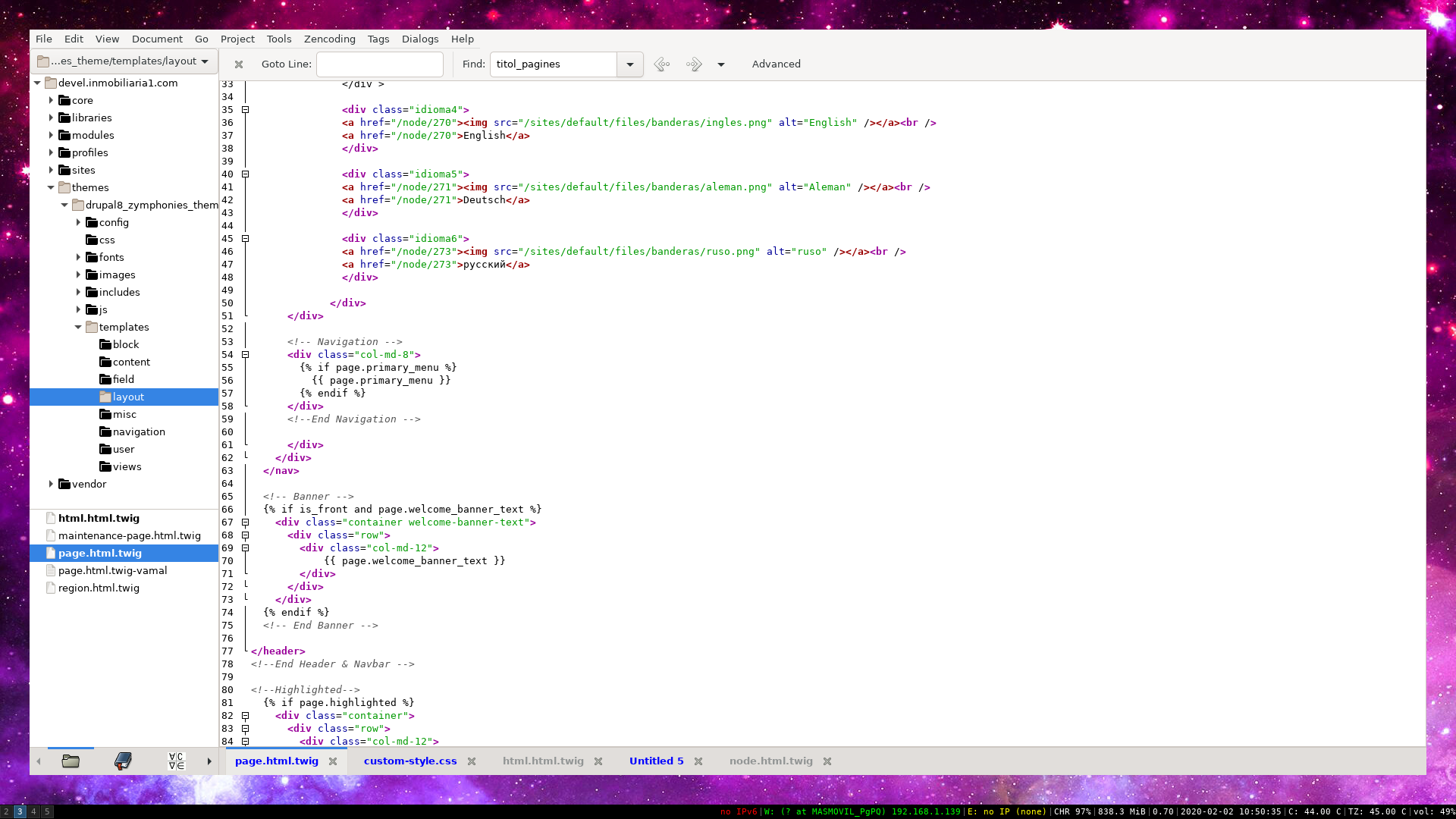 Com desenvolupar projectes Drupal des d'OpenBSD allojats a un servidor remot