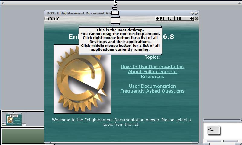 Enlightenment a OpenBSD 6.6