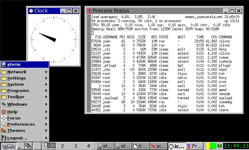 Icewm a OpenBSD 6.6
