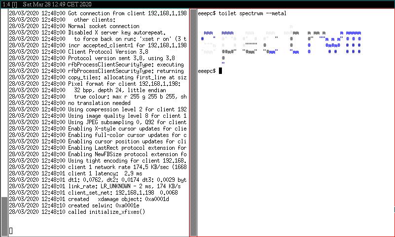 Spectrwm a OpenBSD 6.6