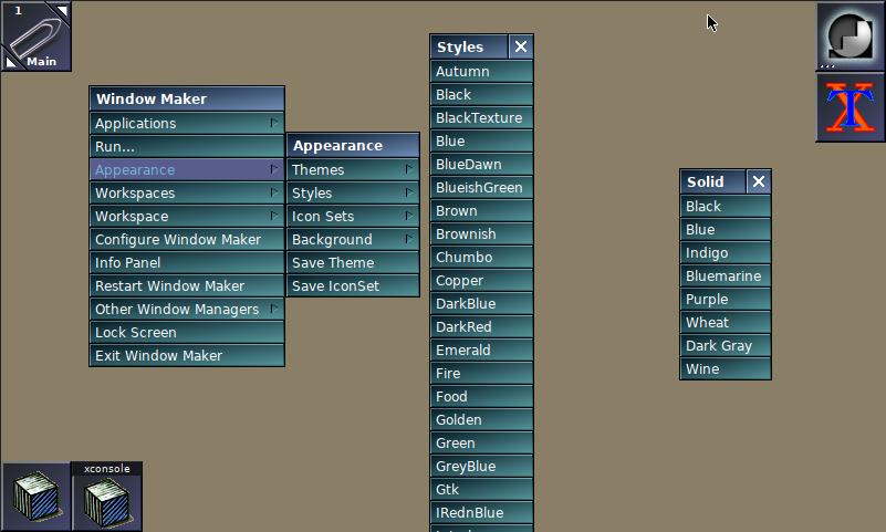 Window Maker a OpenBSD 6.6