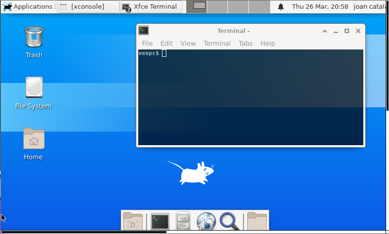 XFCE 4 a OpenBSD 6.6