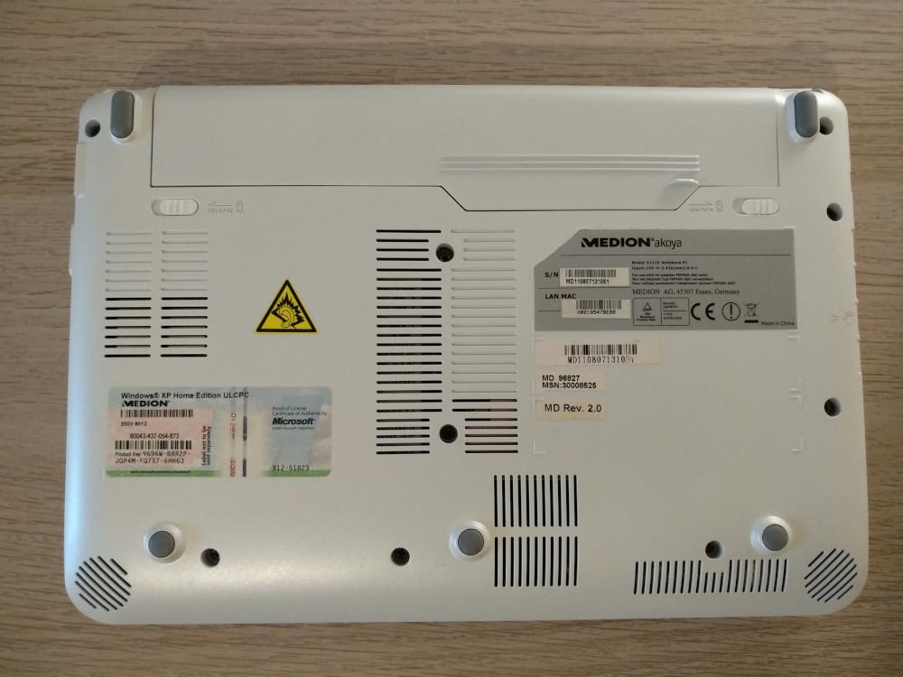 Ampliant i millorant components al Medion Akoya E1210